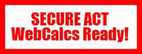 SECURE ACT Calculators Ready Now